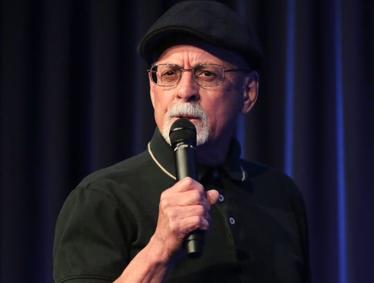Ray Chavez shares his story during the Coachella Valley Storytellers Project at the Rancho Mirage Public Library, May 22, 2019.