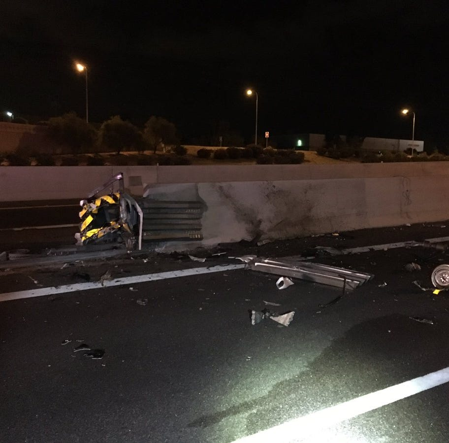 1 killed in fiery crash on Loop 101 in Chandler