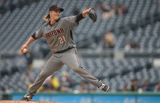 Arizona Diamondbacks starting pitcher Zack Greinke could have some interest on the MLB trade market.