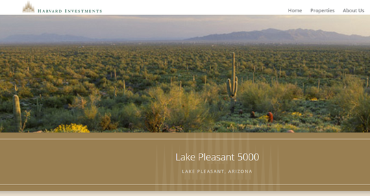 Lake Pleasant 5000 was hailed as what would be one of the largest master-planned communities in Arizona.