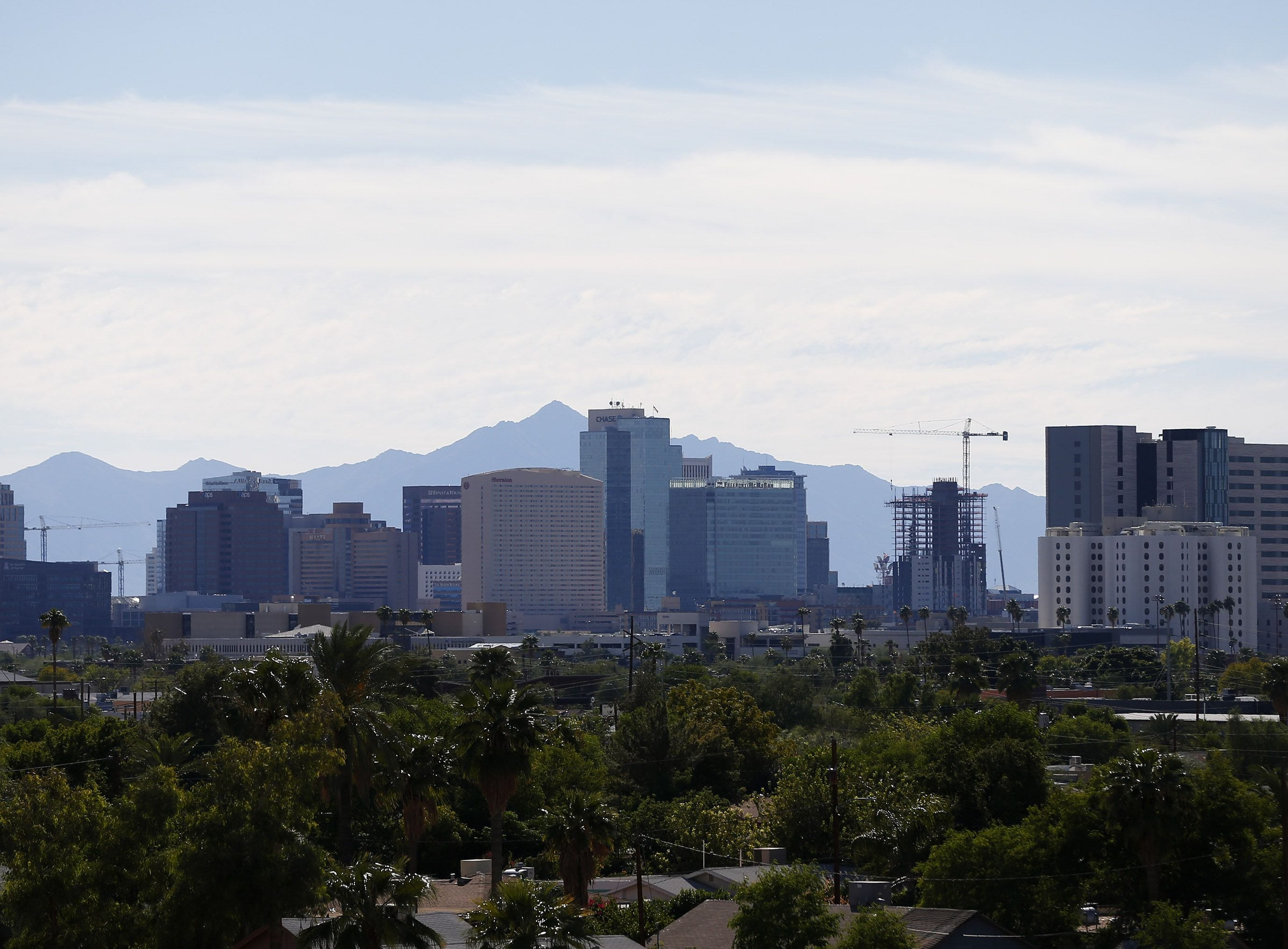FASTEST GROWING CITIES: Two Arizona cities are the fastest growing in the United States, according to population estimates from the U.S. Census Bureau. Buckeye's population saw the largest percentage growth of any city in the country. Meanwhile, Phoenix saw the largest numeric increase during that time frame.