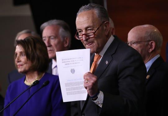Los demócratas le están dando seguimiento al reporte del fiscal especial Robert Mueller.