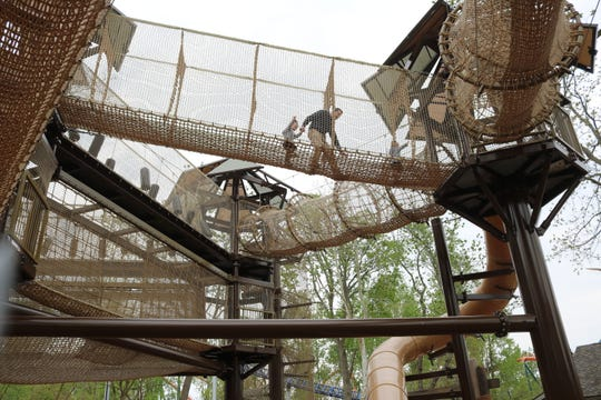Adventure Island is also home to a huge jungle gym playground area for children sure to be a popular destination.