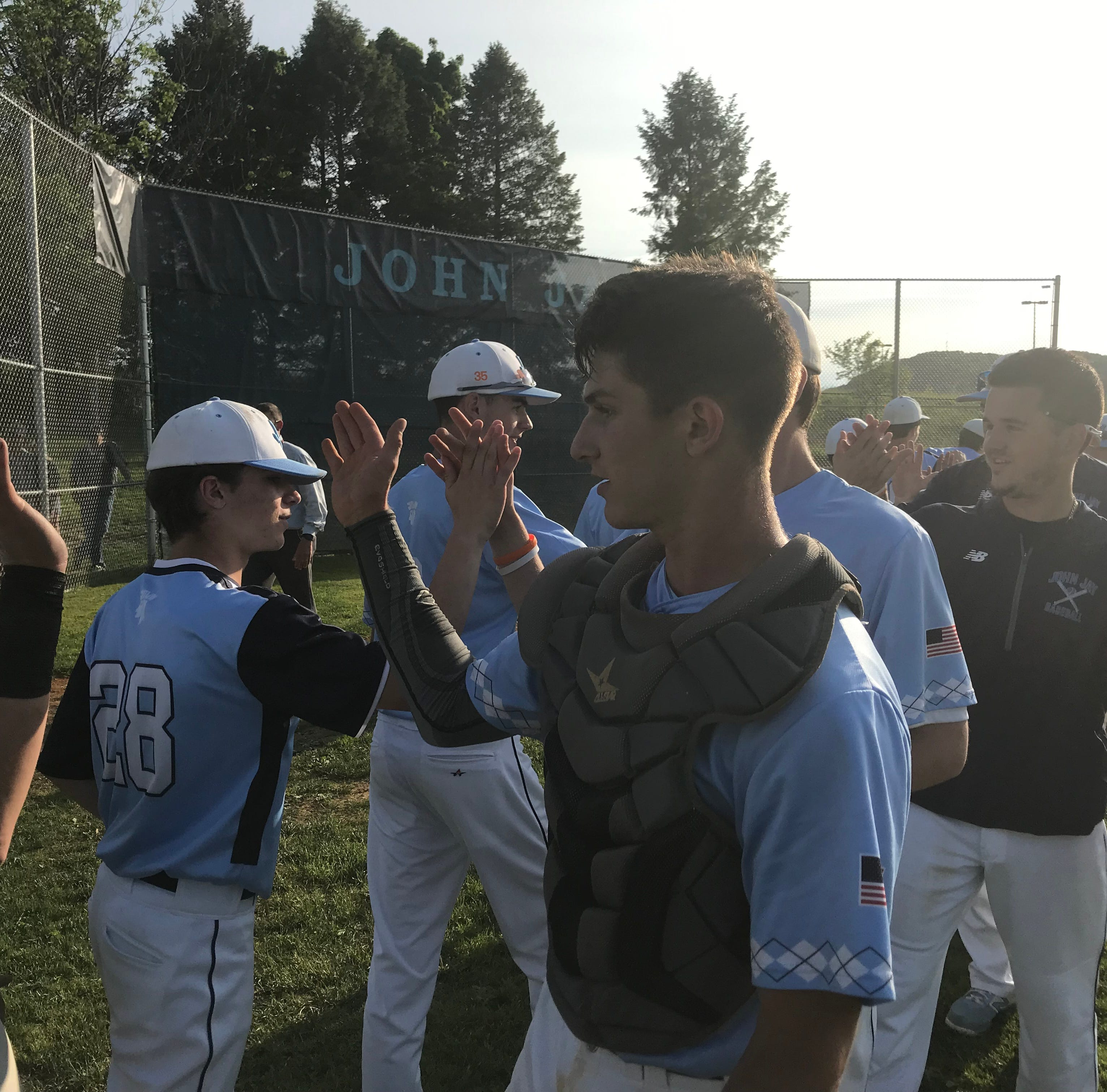Baseball: John Jay erupts, beats Arlington, heads to Class AA semis