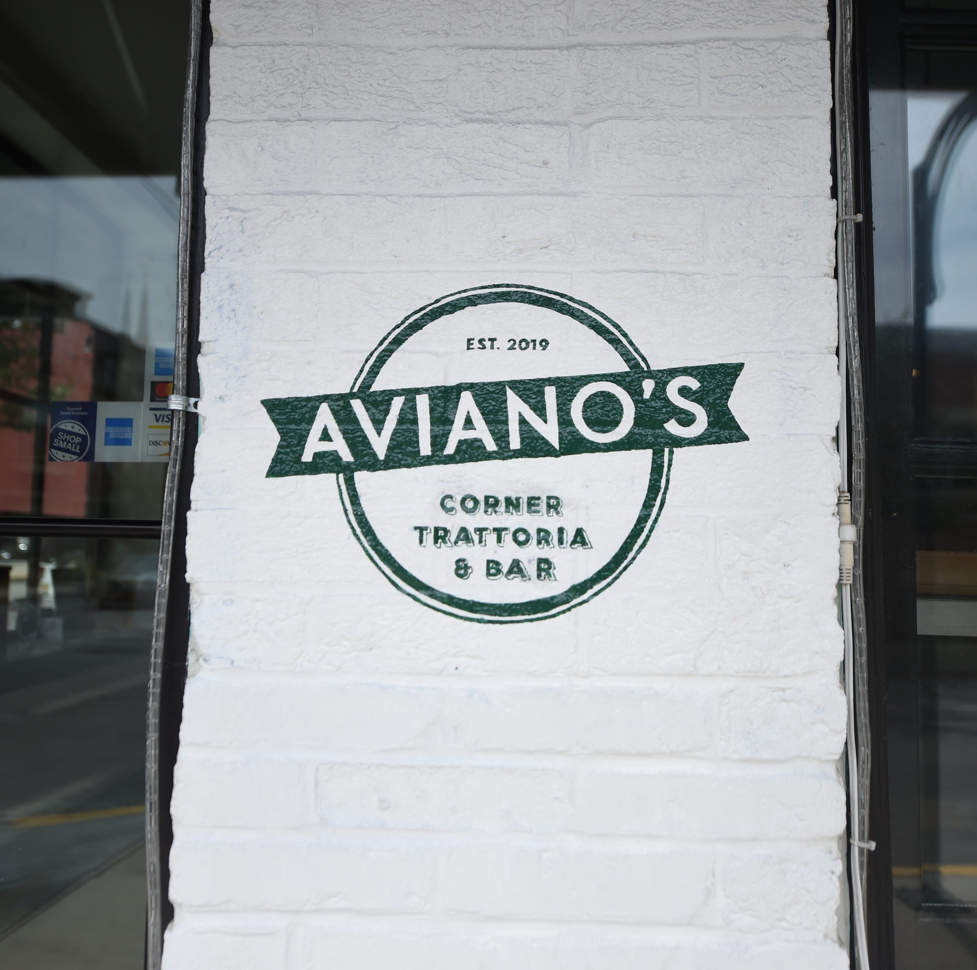 Aviano's Corner Trattoria at 101 S. Duke Street is expected to open later this summer.