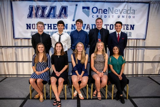 One Nevada has partnered with NIAA to teach student-athletes skills that lead to lifelong financial well-being. Northern Nevada Recipients of 2019 NIAA/One Nevada Top 10 Student-Athlete Scholarships.