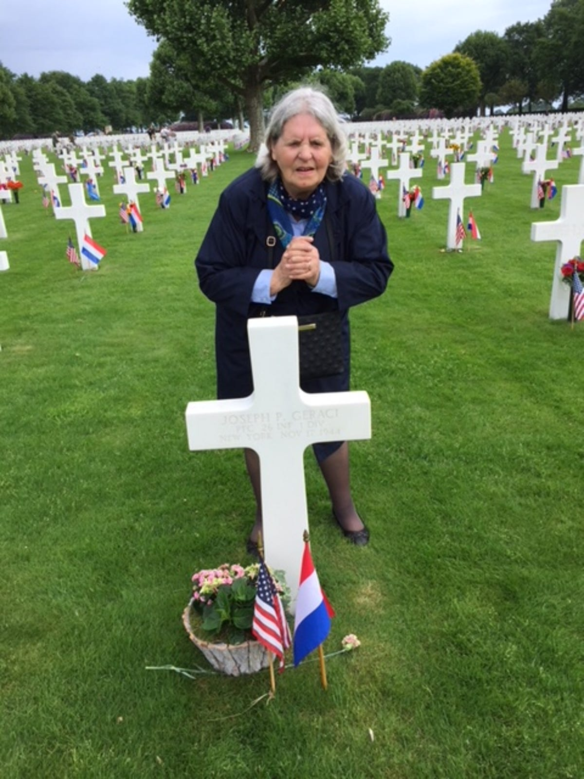 Memorial Day: WWII soldier's grave tended to by stranger for 74 years