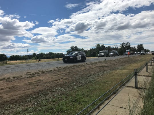UPDATE: High-speed crash on I-5 near Knighton injures
