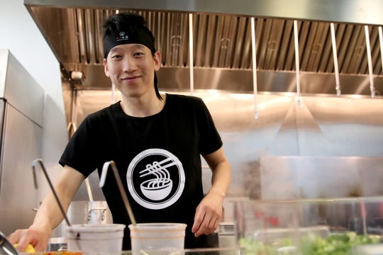 Rocky Yang, the owner and head chef at Ibendoo Ramen in Salem on May 23, 2019.