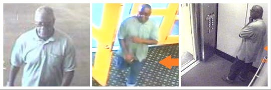 The Shreveport Police Department is asking the public's help in identifying a suspect in a vehicle burglary which reportedly occurred on May 13, 2019, in a downtown parking garage.