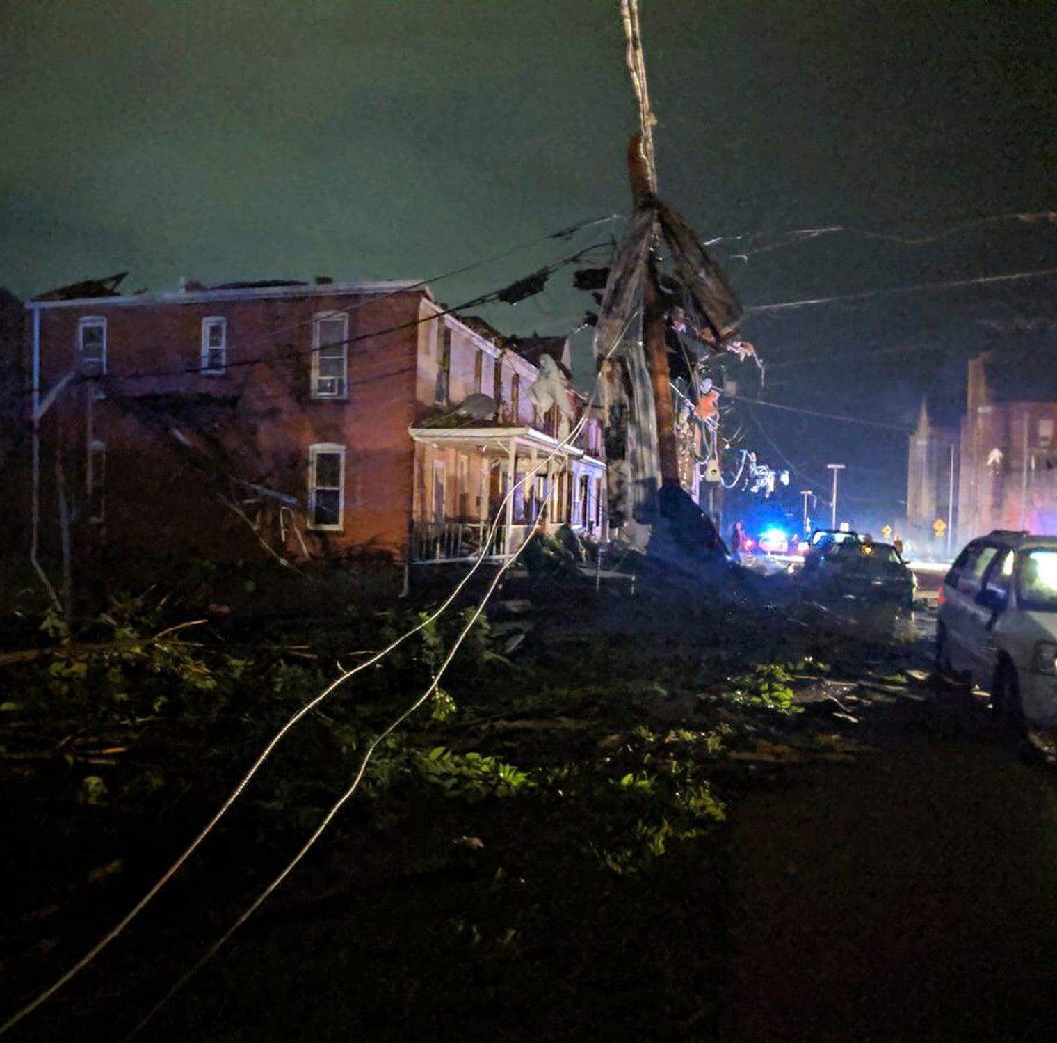 Here's what tornado damage looks like in Jefferson City, Missouri
