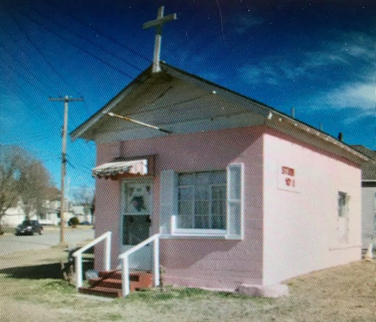 The little building once served as a wedding chapel.