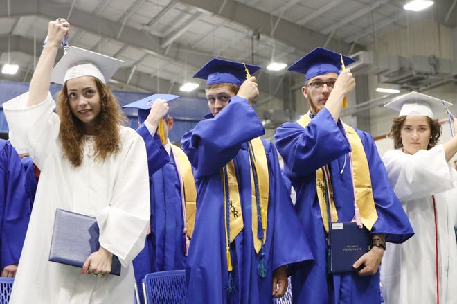 Fort Defiance High School held its 57th commencement ceremony at Eastern Mennonite University in Harrisonburg on Wednesday, May 22, 2019 awarding diplomas to 192 graduates.
