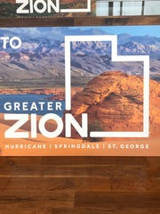 A look at the brand new Greater Zion logo at the brand relaunch event