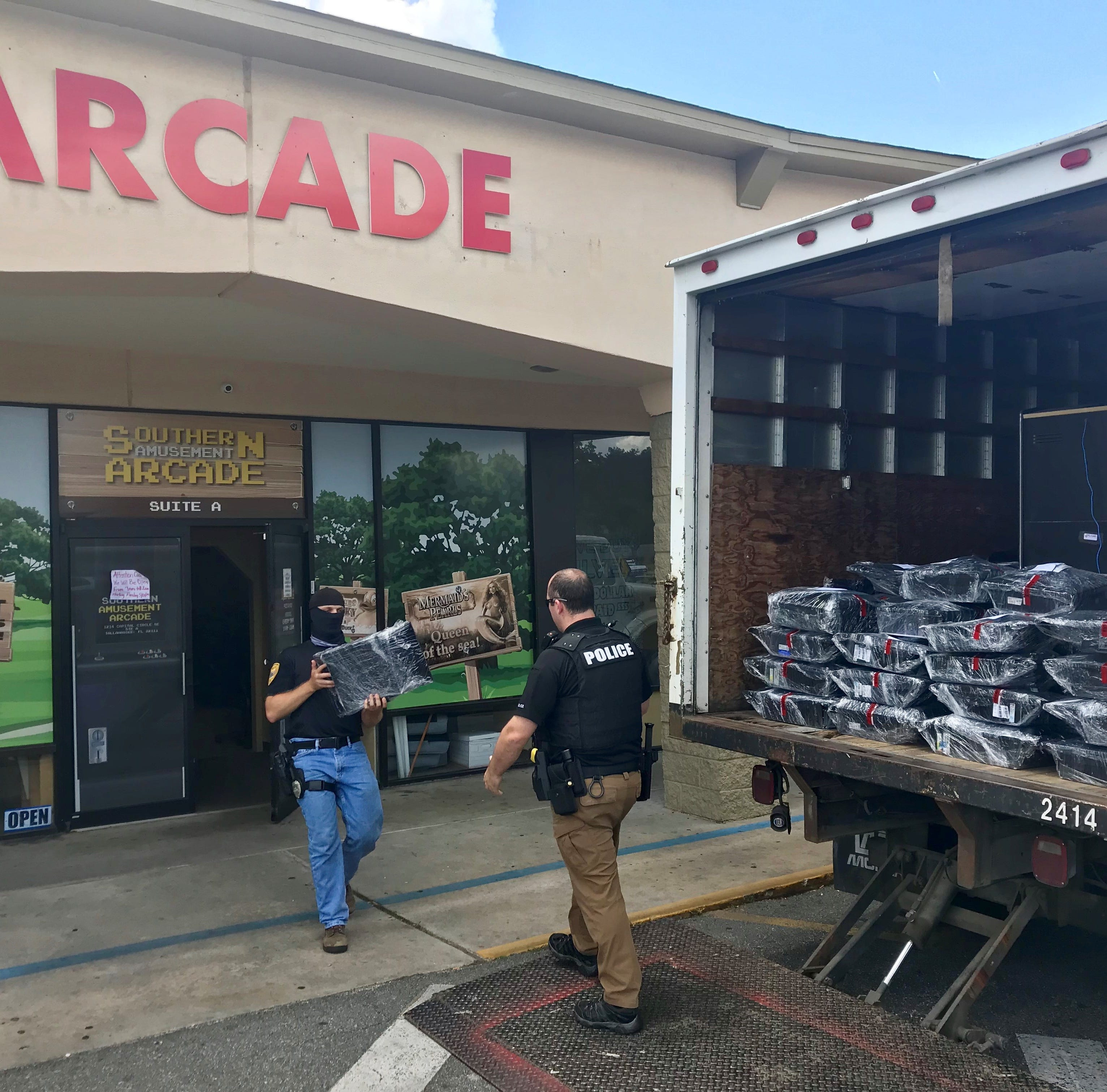 TPD, LCSO raid Tallahassee arcades in illegal gambling probe