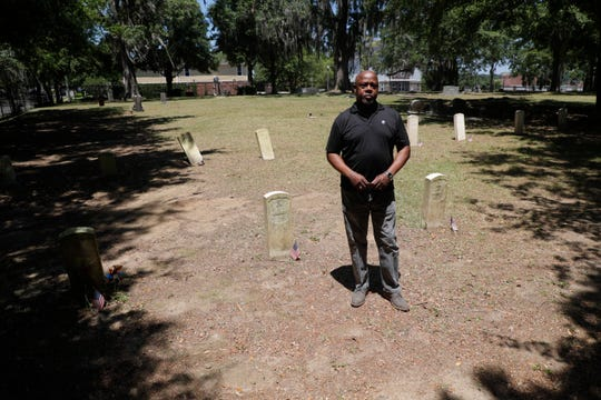 Jarvis Rosier has been working to name and provide proper headstones for 31 unidentified United States Colored Troops buried in Old City Cemetery for 10 years.
