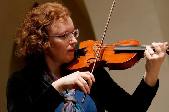Valerie Arsenault performs with the Tallahassee Bach Parley.