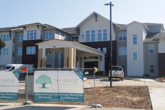 The Grove at Canopy will be an independent living, assisted living and memory care facility in the Canopy at Welaunee community development.