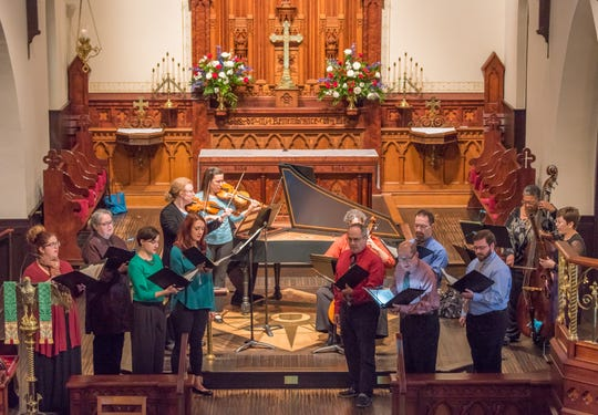 Bach Parley Spring Concert and Annual Receptionwill be at 3 p.m. Sunday, June 2.