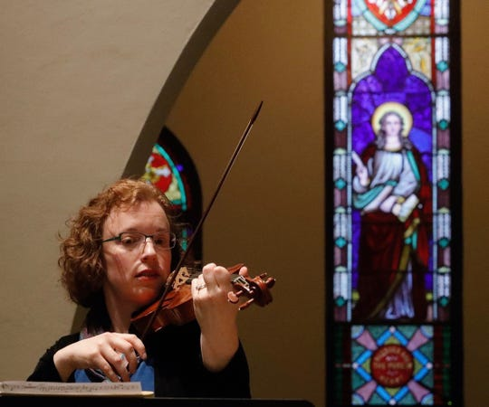 """Valerie Arsenault, who peforms with Bach Parley, says: """"The music just soaks into you and starts to change you."""""""