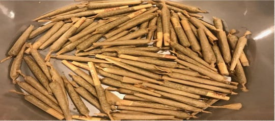 Marijuana cigars found in a Palm City home where a post-prom party was supposed to happen in April.