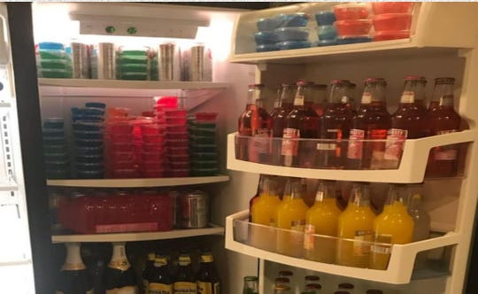 Alcohol and Jello shots found in a home a 19-year-old rented to host an after-party in Palm City.