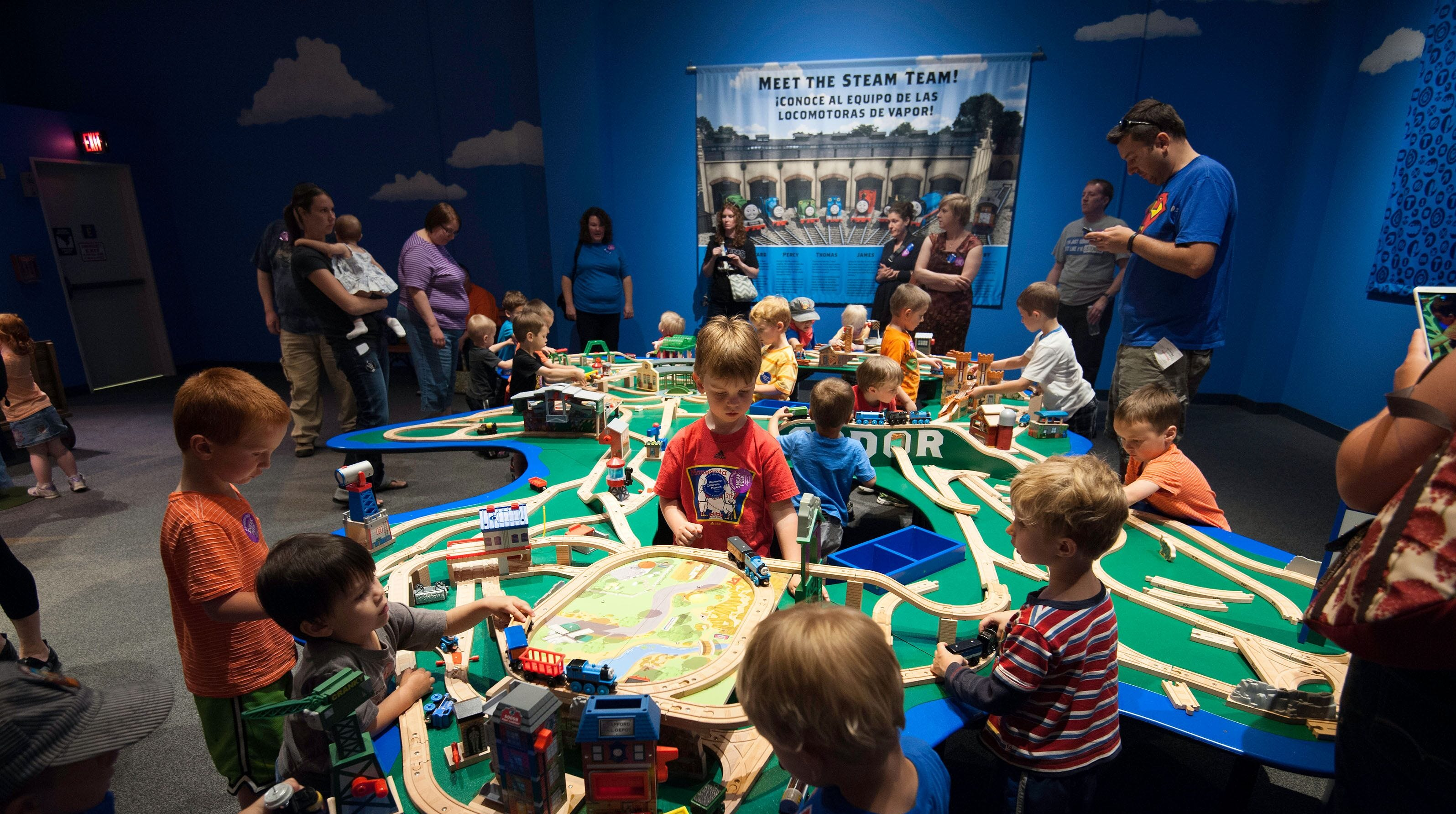 Thomas & Friends: Explore the Rails opens May 25 at the Upcountry History Museum, bringing hands-on fun for fans of all ages.