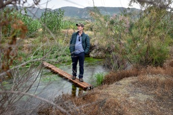 Santa Clara River Conservancy is working with local landowners and environmental groups to rehabilitate the Santa Clara Watershed area near Fillmore.