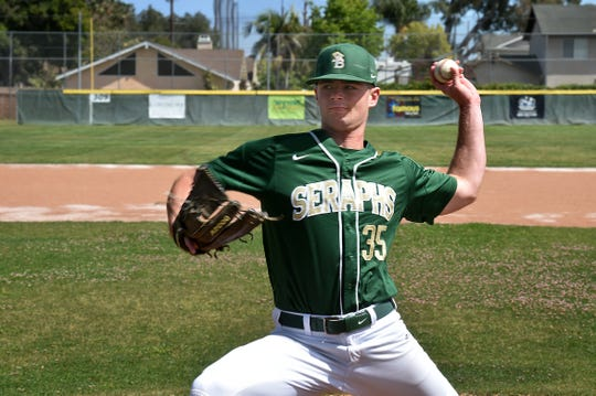 UCLA-bound Jake Saum finished his three-year career at St. Bonaventure by setting the school strikeout record with 327 while going 21-6 on the mound.