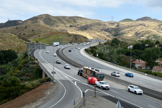 Memorial Day weekend traffic was light Thursday afternoon in Ventura County, but that's expected to change.