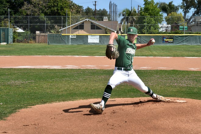 After coming to California from Hawaii before his sophomore season, Jake Saum proved to be on the best pitchers in the county while starring at St. Bonaventure High for three memorable seasons.