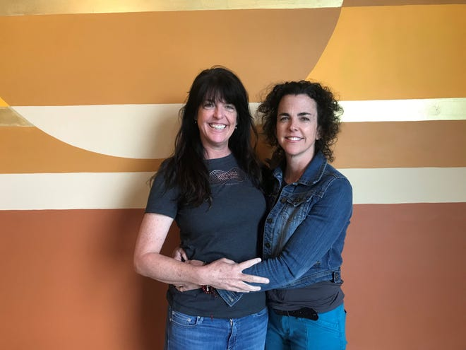 Kelly Ballard and Leslie Patterson are sisters and co-owners of Whitewater Music Hall in Wausau. The venue will offer live music, locally roasted coffee, microbrews, visual artwork and more when they hold a soft opening in late May 2019.