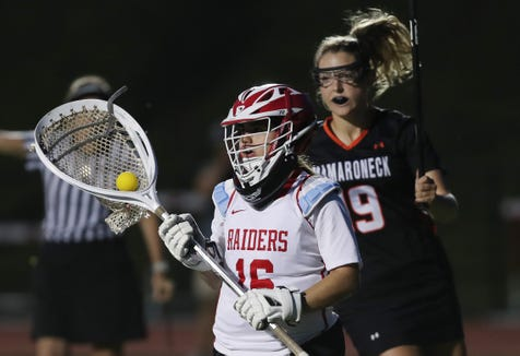 North Rockland defeated Mamaroneck 9-8 in the Section 1 girls lacrosse championship game at Fox Lane High School in Bedford May 22, 2019.
