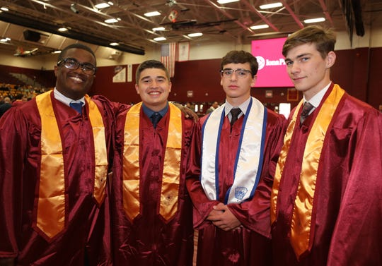 Iona Prep celebrated their 100th commencement at Iona College in New Rochelle, May 23, 2019.