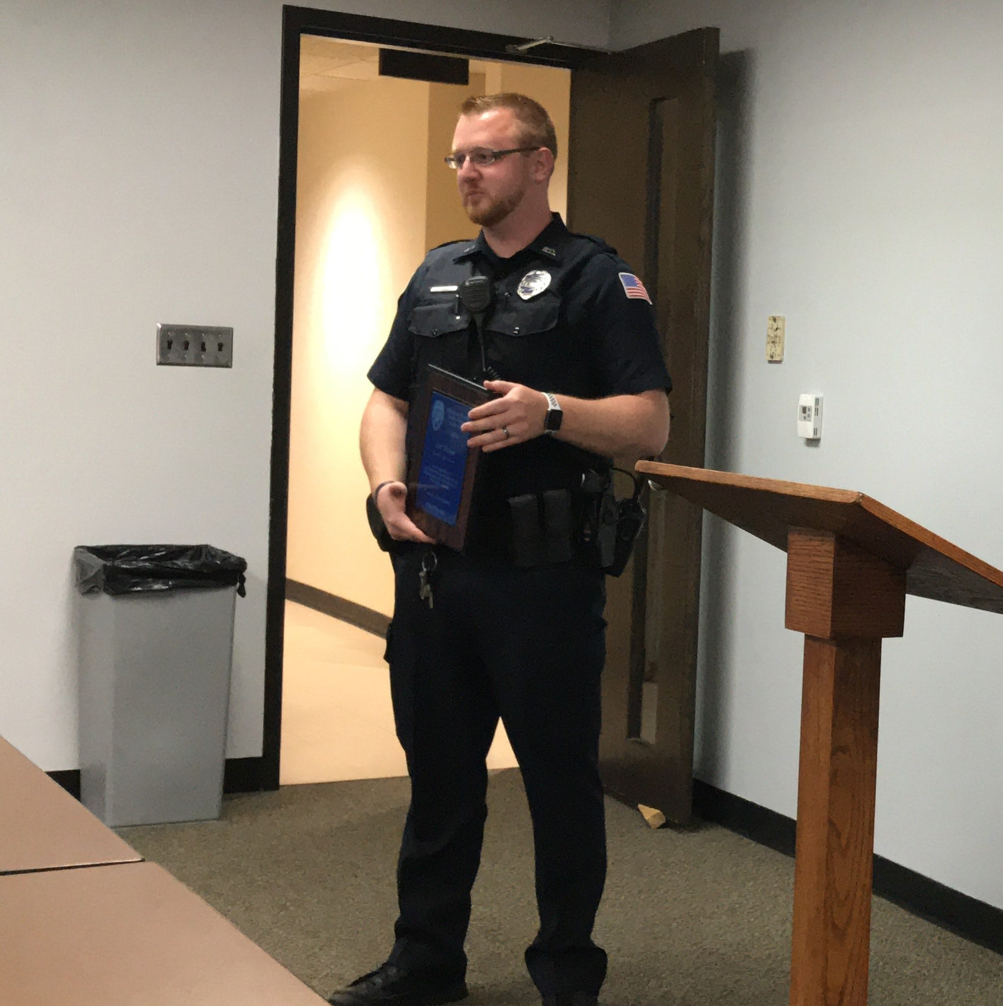 Wisconsin Rapids association names recipient of its Officer of the Year award