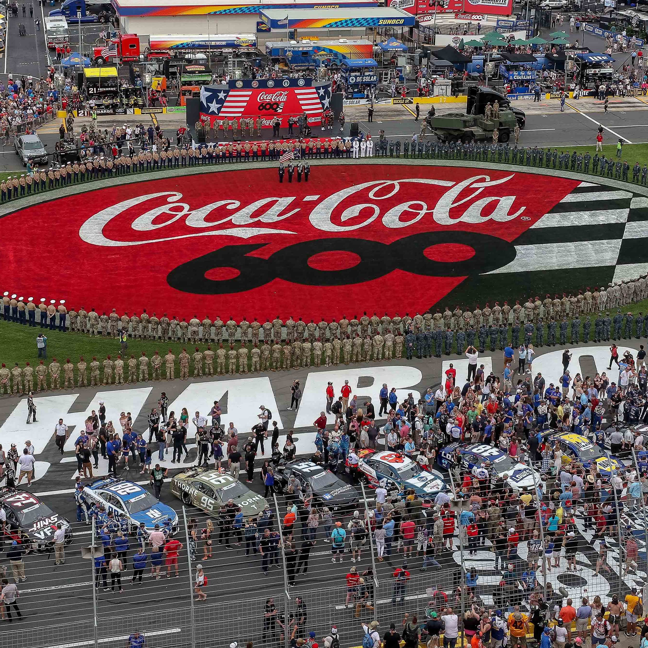 NASCAR: Coca-Cola 600 schedule, TV channel, start time
