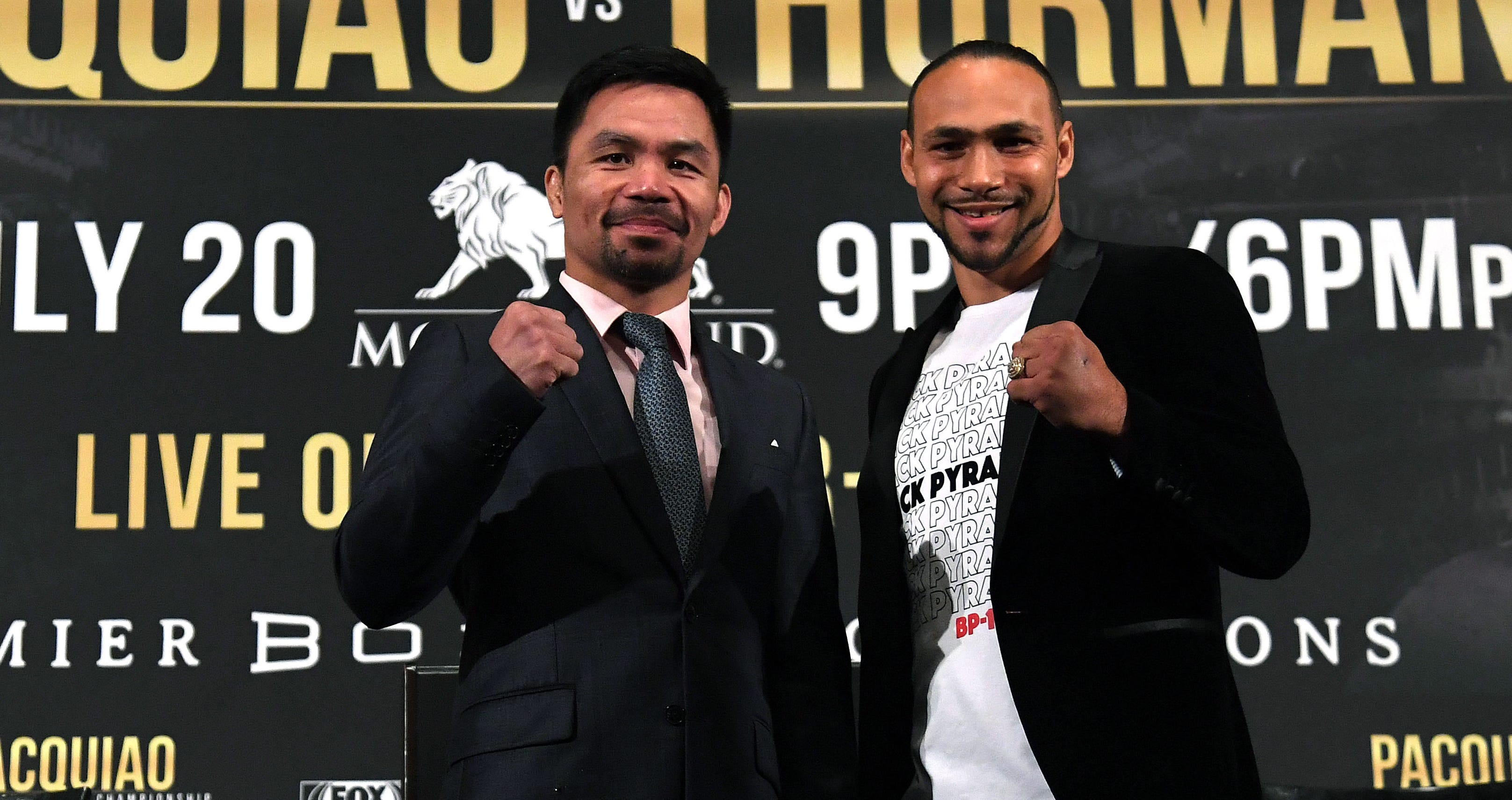'T-Rex arms:' Keith Thurman lets the Manny Pacquiao insults fly at news conference