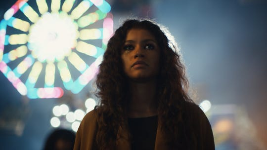 "Singer/actress Zendaya returns to TV in HBO's potentially controversial ""Euphoria."""