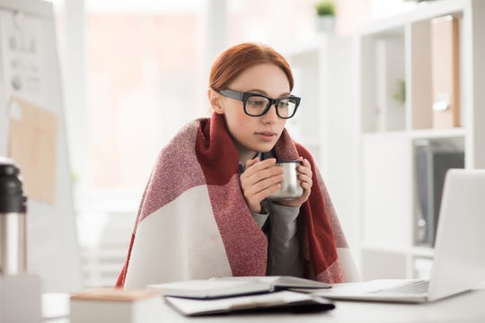 It's not just comfort: Cold offices may really be hurting women's productivity, study says