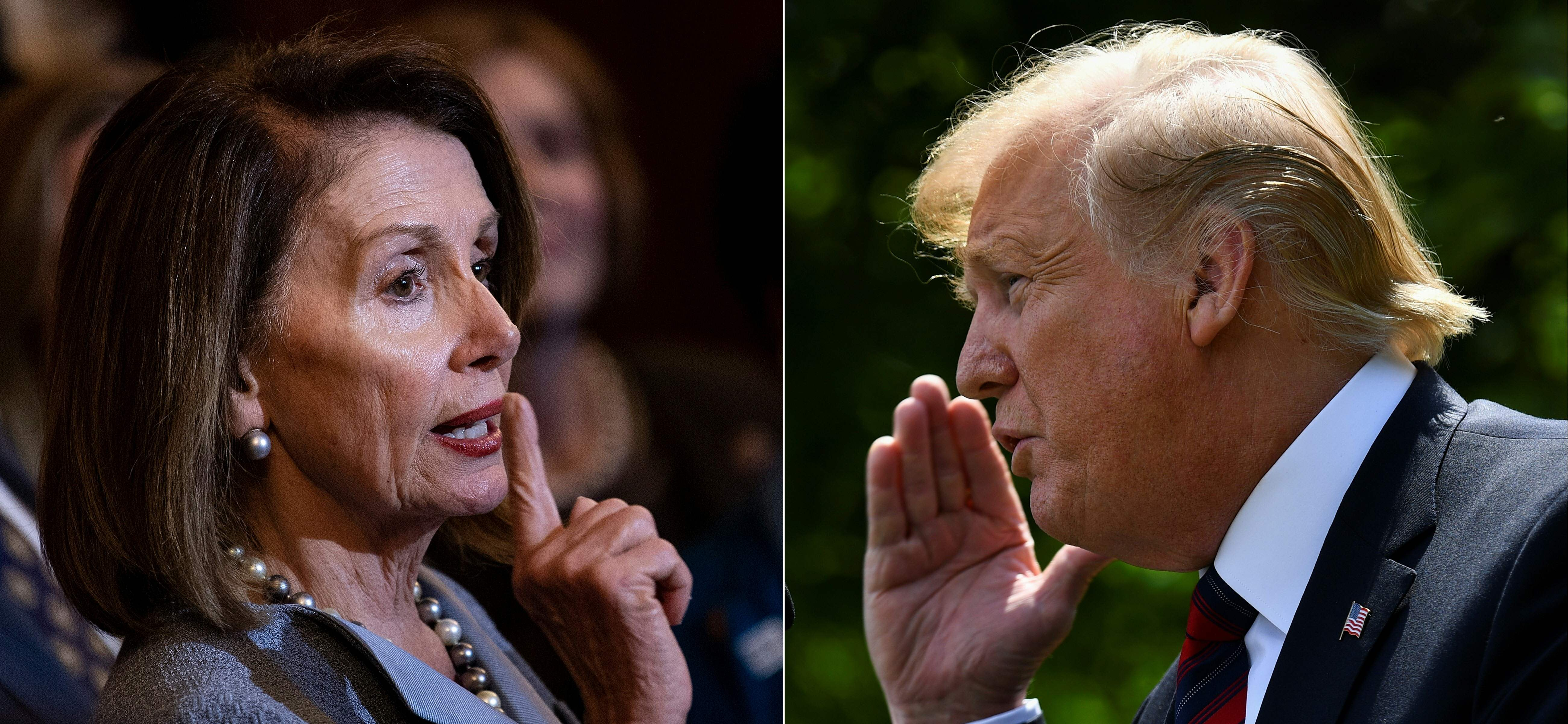 Trump calls Nancy Pelosi 'nasty, vindictive, horrible person,' after prison remark