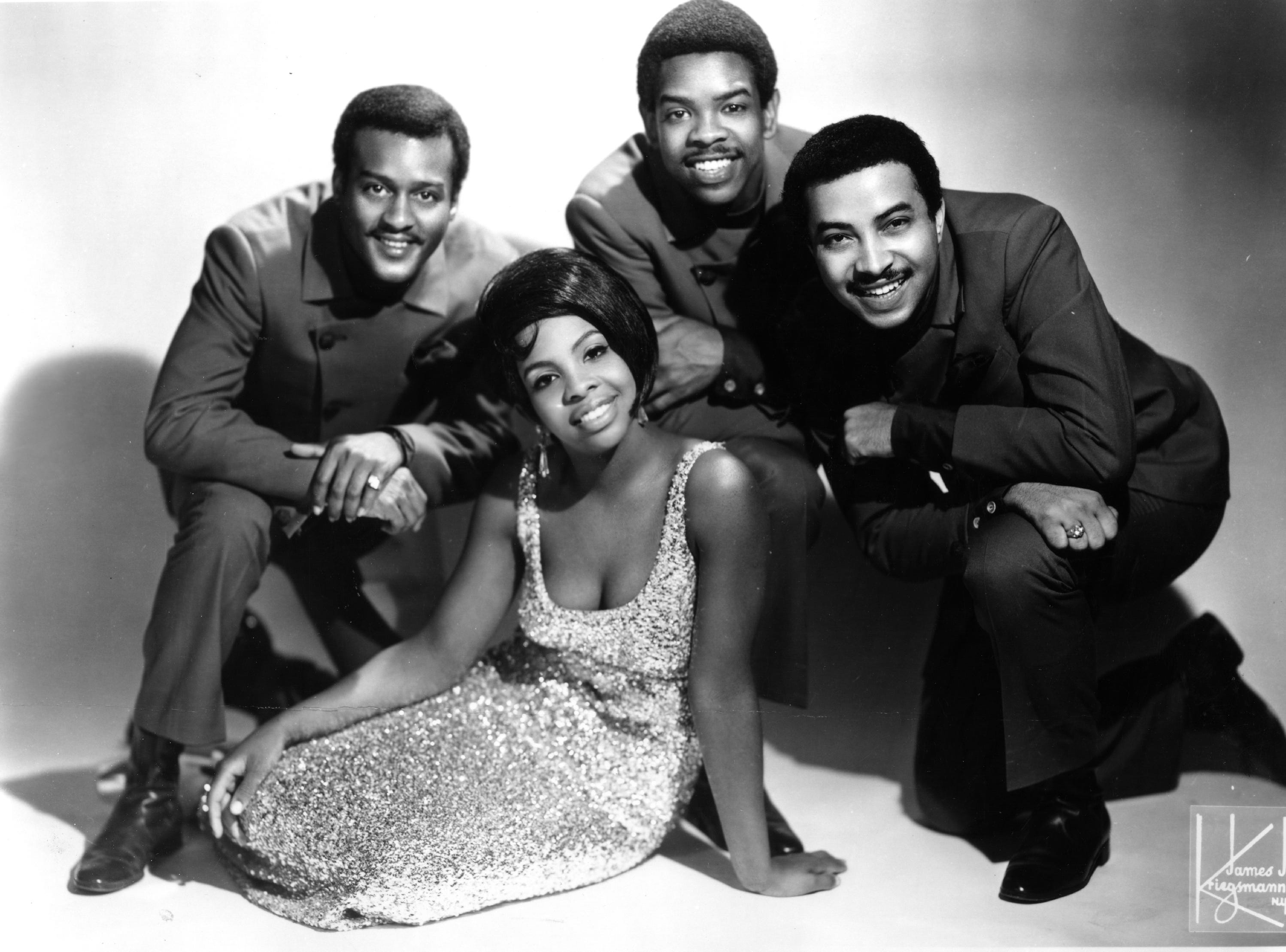 Undated image of Gladys Knight & the Pips