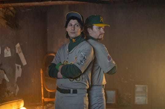 """Andy Samberg and Akiva Schaffer in """"The Lonely Island Presents: The Unauthorized Bash Brothers Experience."""""""
