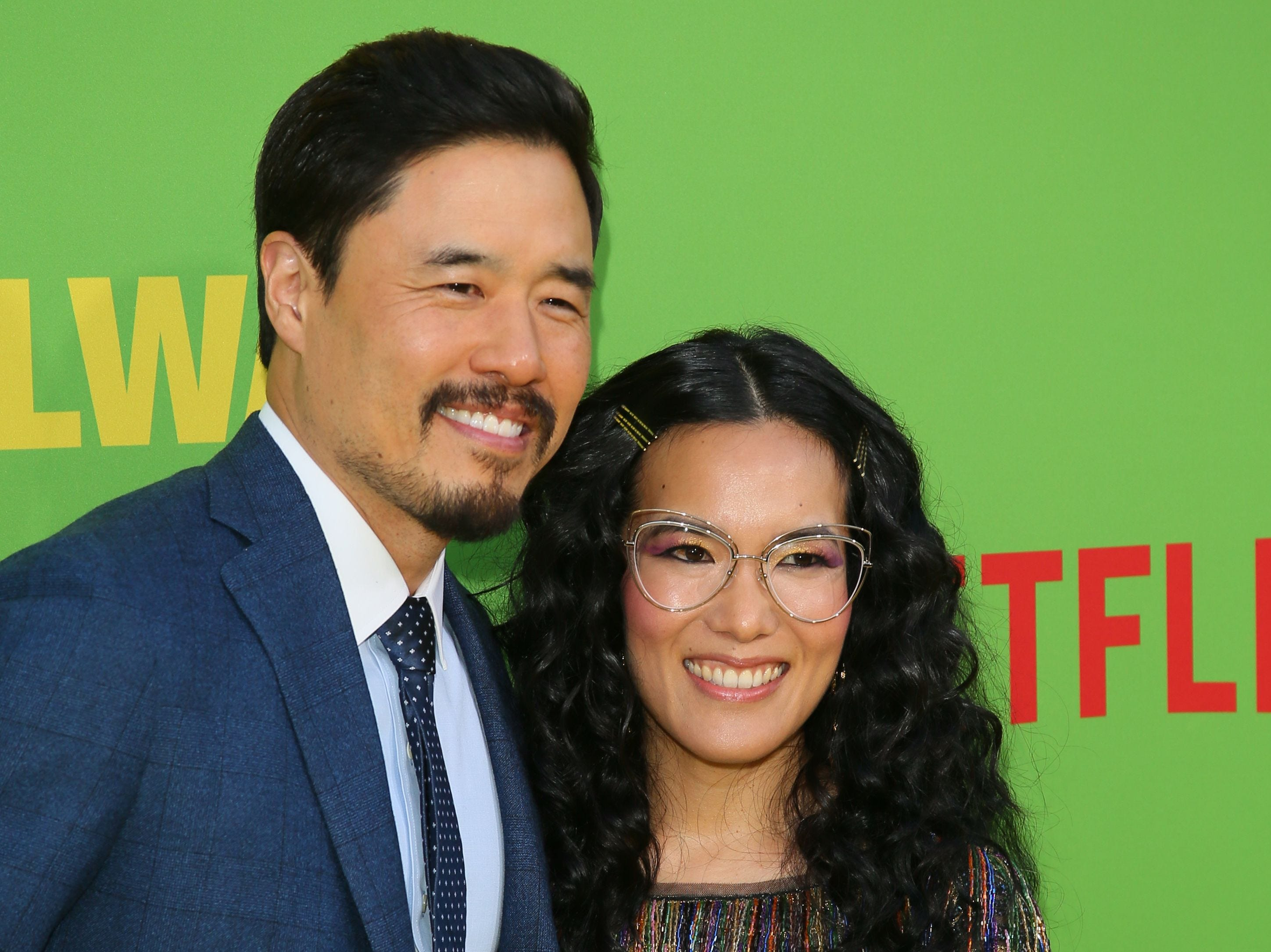 """Actress Ali Wong and actor Randall Park arrive for the Netflix world premiere of """"Always Be My Maybe"""" at the Regency Village theatre on May 22, 2019 in Westwood, Calif."""