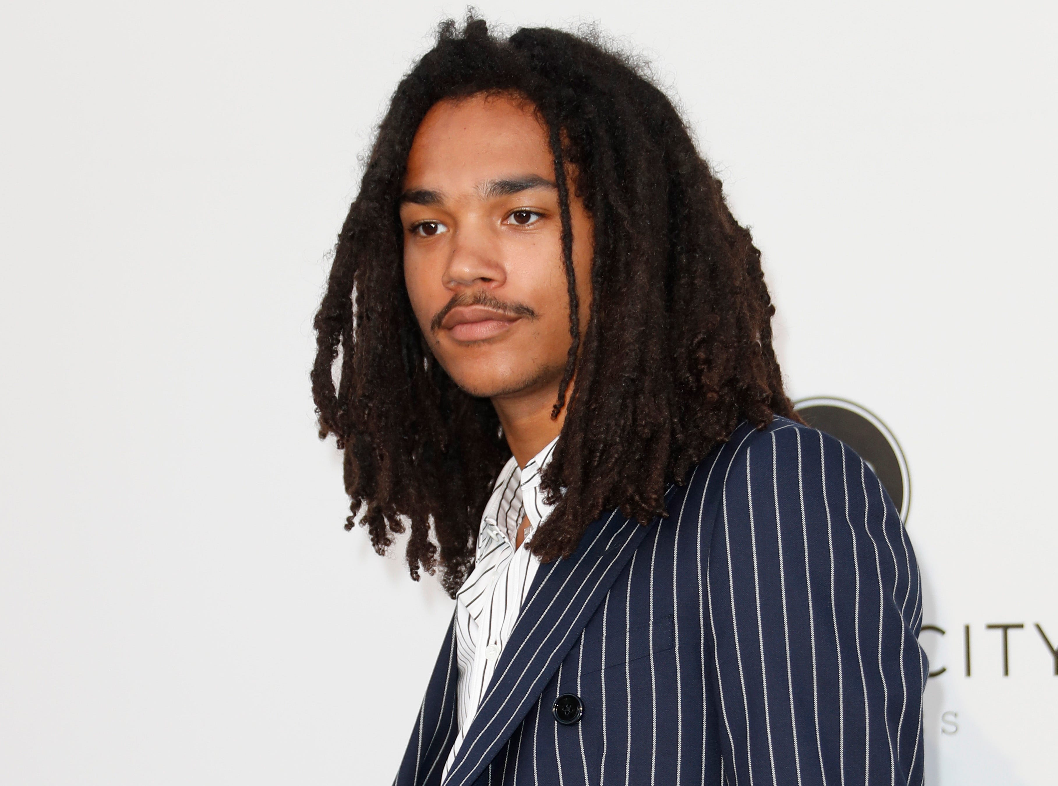 epa07595252 US model Luka Sabbat attends the Cinema Against AIDS amfAR gala 2019 held at the Hotel du Cap, Eden Roc in Cap d'Antibes, France, 23 May 2019, within the scope of the 72nd annual Cannes Film Festival that runs from 14 to 25 May.  EPA-EFE/SEBASTIEN NOGIER