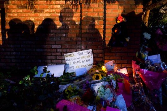 When Michael Jackson died in June 2009, fans built tributes to him around the world. But controversy has dogged his legacy.