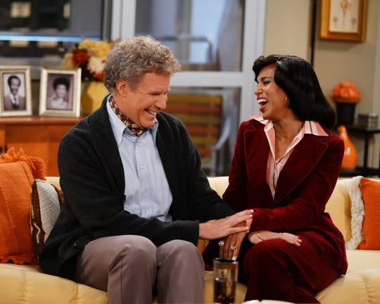 "Will Ferrell and Kerry Washington play interracial married couple Tom and Helen Willis, the Jeffersons' neighbors, in ""Live in Front of a Studio Audience: Norman Lear's 'All in the Family' and 'The Jeffersons.'"""