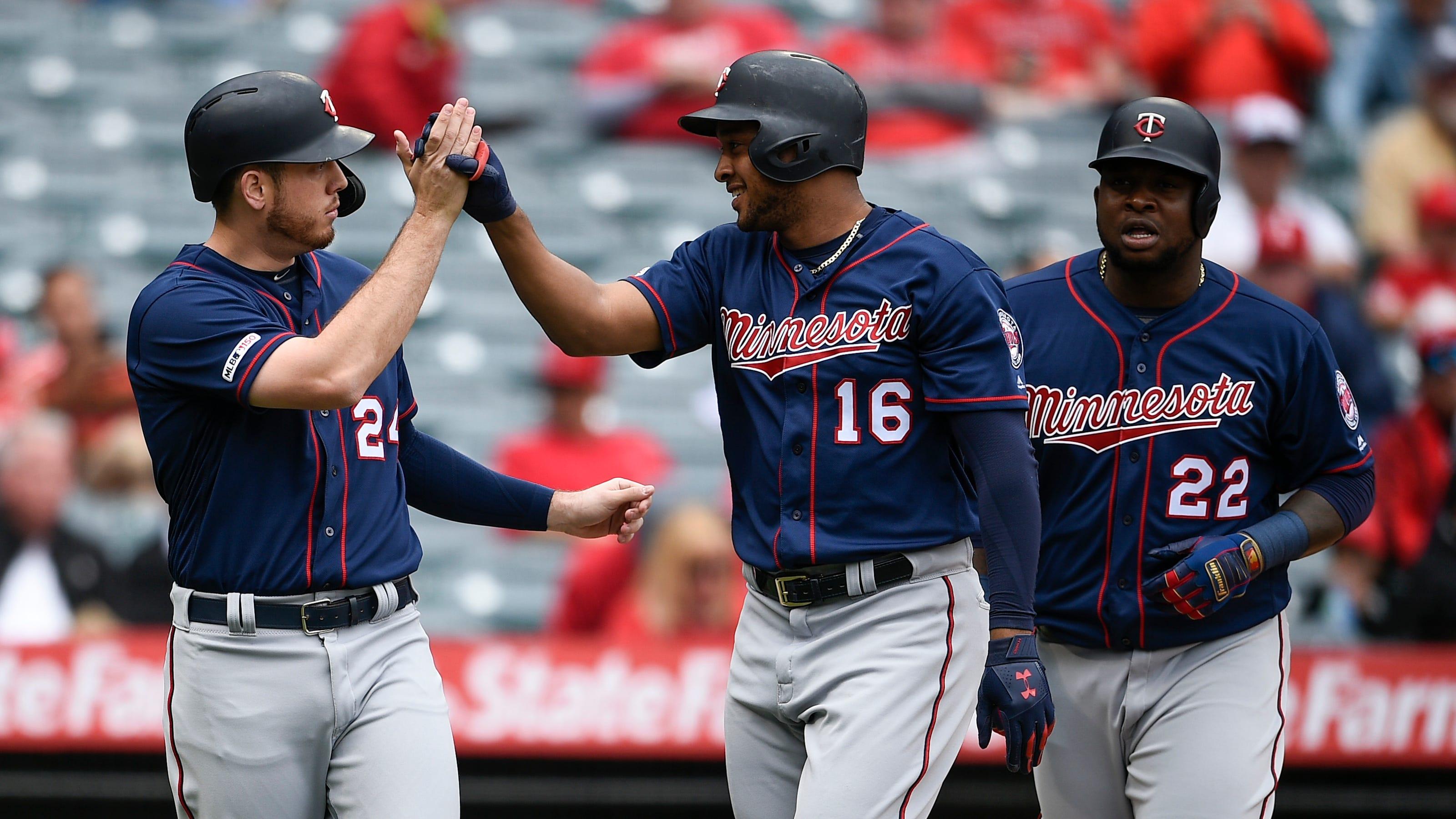 Minnesota Twins hit eight home runs, take over MLB's best record