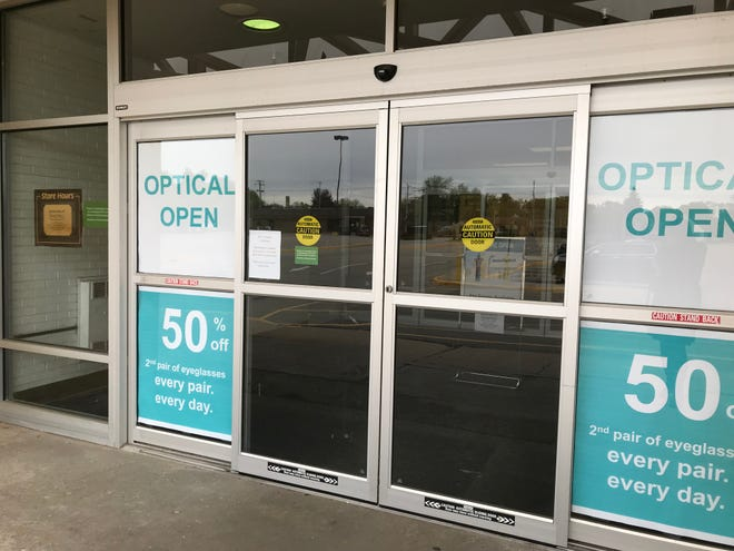 Shopko Optical remains open in the now-closed Kimberly Shopko store.