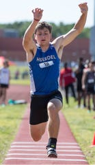 NJSIAA Central Jersey Groups 2 & 3 track and field championships take place at Jackson Liberty High School.Jackson, NJFriday, May 24, 2019
