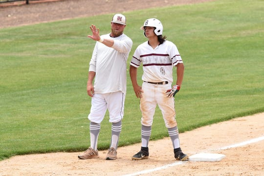 Hawley coach Jamie Seago, shown in a May 2019 game, is hoping for a chance at another playoff run.